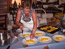 Cooking in Tuscany Italy