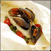 Mussel Topped Coley Parcels