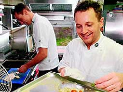 Chef Paul Da Costa Greaves
