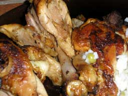 Slow Cooked Brandy Chicken