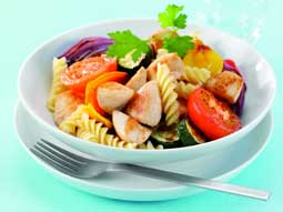 Chicken and Roast Vegetable Pasta