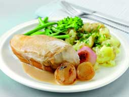 Chicken with Sherry Vinegar and Tarragon Sauce developed ...