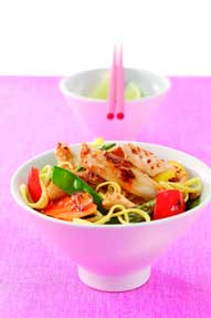 Chicken Stir-fry with Mango