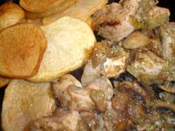 Canary Island Chicken - Pollo al Moho