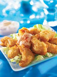 Mitch Tonks' Crispy Scampi with Whisky Mayonnaise