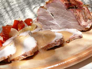Roast Pork in Asturian Cider