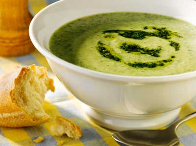 Watercress, Potato and Ginger Soup