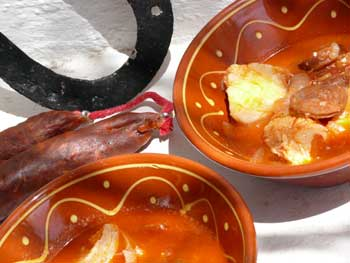 Cod and Chorizo Soup