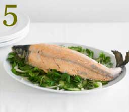 How to cook salmon Step 5