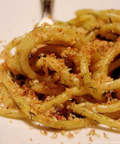 Pasta With Sardines And Fennel