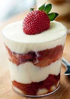 Summer Fruit Tiramisu
