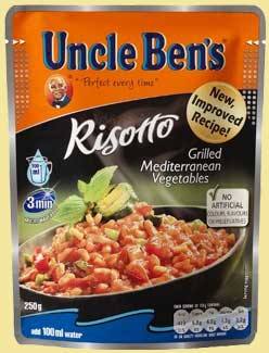 Uncle Ben's microwave risotto