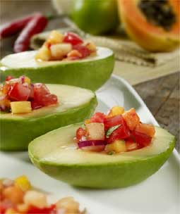 Avocado and Tropical Fruit Ceviche