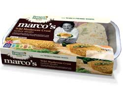 Marco's Wild Mushroom Crust Turkey steaks
