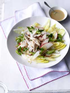 Apple, Chicory and Pecan Salad