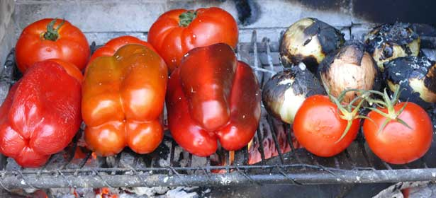 Spanish Char Grilled Vegetables