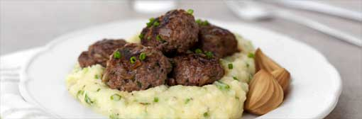 Nigel Barden's Punchy Meatballs with a Twist