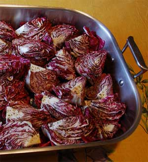 Balsamic Marinated Radicchio