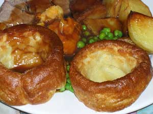 Yorkshire puddings for roast dinner