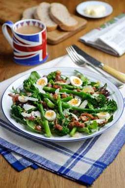 Tenderstem Broccoli With Shallot Vinaigrette And Croutons Recipes ...