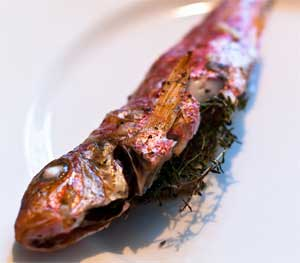 Red Mullet with Thyme and Orange