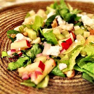 Apple and Salanova Salad