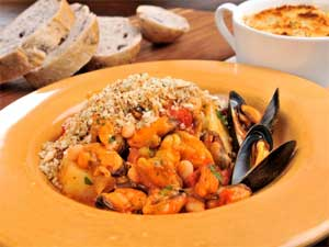 Cassoulet of Mussels