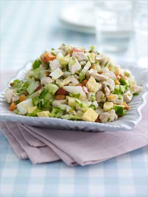 American Style Chopped Turkey Salad