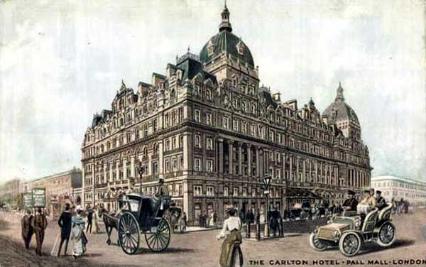 Carlton Hotel in London